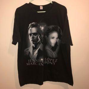 Jennifer Lopez& Marc Anthony world Tour Shirt